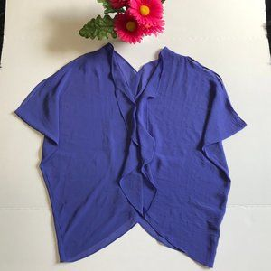 Sophie & Kate Royal Blue Loose Fitting Blouse